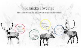 Samiska i Sverige
