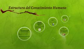 Estructura del Conocimiento Humano