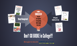 Succeeding Financially in and After College
