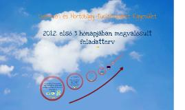 Marketingstratégiai tanulmány - feledatterv 2013