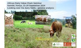 CTA-ILRI African Dairy Value Chain Seminar Plenary presentation