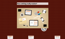 Does Writing Matter?