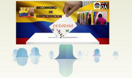 MECANISMO DE PARTICIPACION