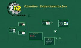Copy of Copy of Diseños Experimentales