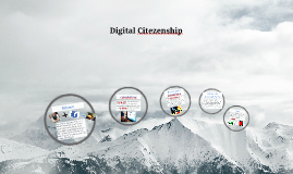 Digital Citezenship