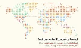 Environmental Economics Project
