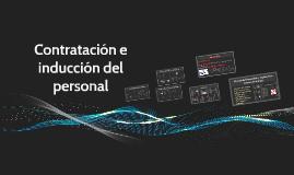 Copy of Contratación e inducción del personal