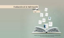 Evaluación de la Información Digital