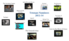 2013-14 Truman Nominees