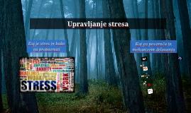 Stres - Uvodnik v predavanje