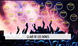 CLAVE DE LOS DONES