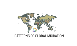PATTERNS OF GLOBAL MIGRATION