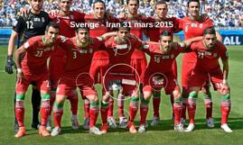 Sverige - Iran 31 mars 2015
