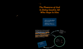 Copy of Ch5 The Pleasures of God in Doing Good to Those who Hope in Him