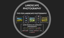 LANDSCAPE PHOTOGRAPHY 2016