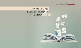 Copy of ARTÍCULO 123 CONSTITUCIONAL APARTADO A Y B