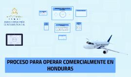OPERACIONES COMERCIALES EN HONDURAS