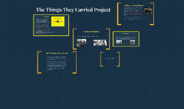 The Things They Carried Project