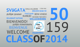 Welcome Class of 2014_V2
