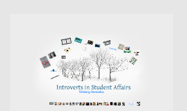 Introverts in Student Affairs
