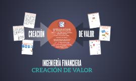 CREACIÓN DE VALOR EN LAS EMPRESAS