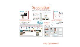 Copy of AP Bio- Evolution 5:  Speciation