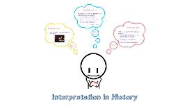 Interpretations of the Past