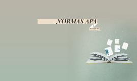 Copy of NORMAS APA SEXTA EDICIÓN