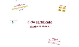 Copy of Presentazione ciclo certificato 15_16A
