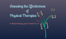 Assessing the effectiveness of physical therapies