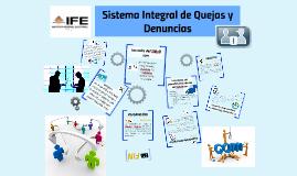 Copy of Sistema Integral de Quejas y Denuncias