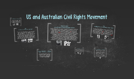 Copy of US and Australian Civil Rights Movement