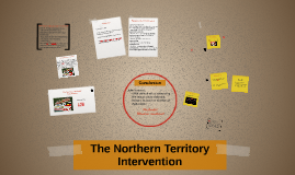 Northern territory intervention essay writer