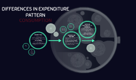 DIFFERENCES IN EXPENDITURE PATTERN
