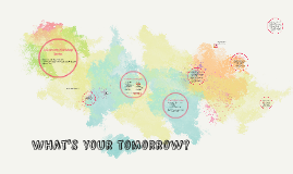 What's your tomorrow?