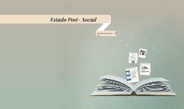 Copy of Estado Post- Social