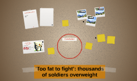 'Too fat to fight': thousands of soldiers overweight