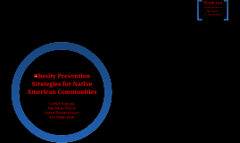 Obesity Preventions Strategies for Native American Communities