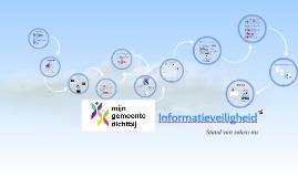 Informatieveiligheid en privacy