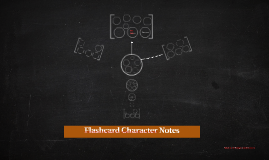 Flashcard Character Notes