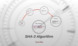 SHA-3 Algorithm