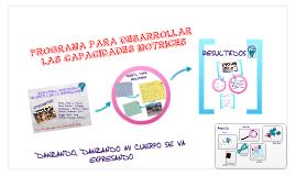"Copy of ""DANZANDO, DANZANDO MI CUERPO SE VA EXPRESANDO"""