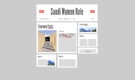 Saudi Women Role
