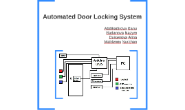 Copy of Automated Door Locking System