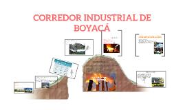 CORREDOR INDUSTRIAL DE BOYACA