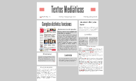 Textos Mediáticos
