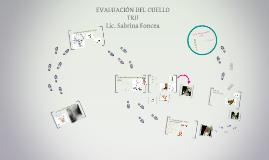 EVALUACIÓN DEL CUELLO