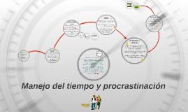 Copy of Manejo del tiempo y procrastinación