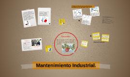 Mantenimiento Industrial.