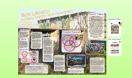 Graffiti Poster Presentation - Illicit Literacy: Access, Insight, and Awareness